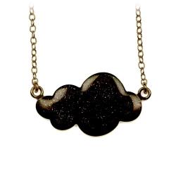 Petit Collier Nuage Noir