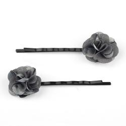 Duo de Barrettes Fleurs - Souris
