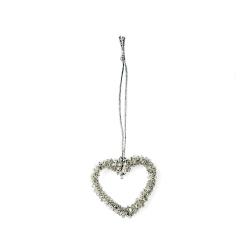 Petite Cœur en Perles à suspendre
