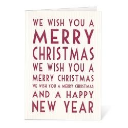 Carte Postale Merry Christmas