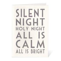 Carte Postale Silent Night