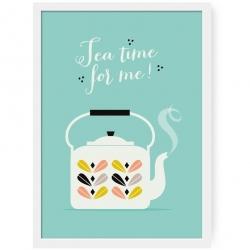 Affiche Tea Time