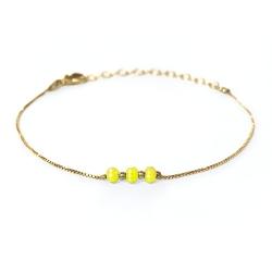 Bracelet Trois Soeurs - Mimosa
