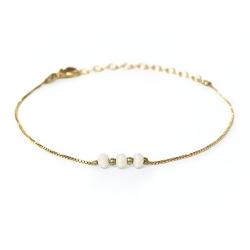 Bracelet Trois Soeurs - Ivoire