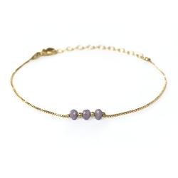 Bracelet Trois Soeurs - Tourterelle