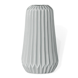 Vase Origami Antique Gris