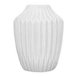 Petit Vase Origami Antique Blanc