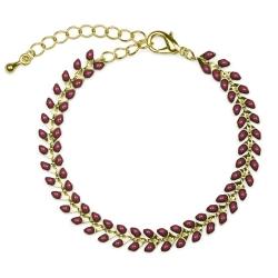 Bracelet Epis Acajou