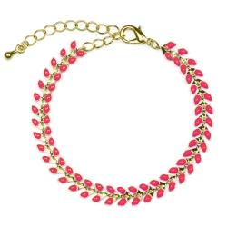 Bracelet Epis Corail Fluo