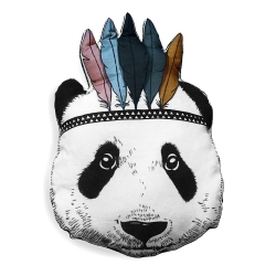 Coussin Panda Sioux