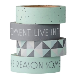 set de 4 Masking Tape Mint