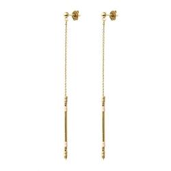 Boucles d'oreilles Alexandra - Champagne