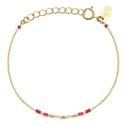 Bracelet Alexandra - Framboise