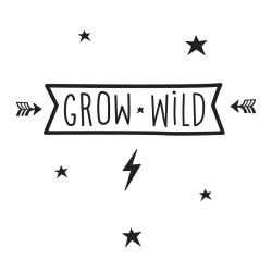 Sticker Grow Wild