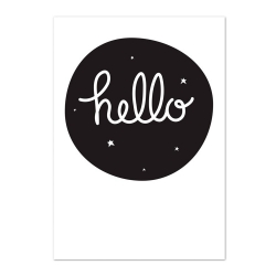 Poster Hello (format 50x70)