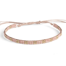 Bracelet Miyuki - n°2 Nude