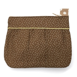 Pochette Noisette & Or
