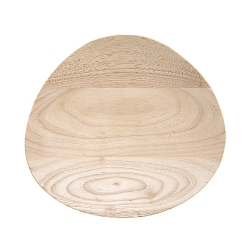 Plat en Bois - 25 cm