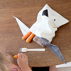 Pochette Lapin - Lunchbag Fabelab - Les inutiles