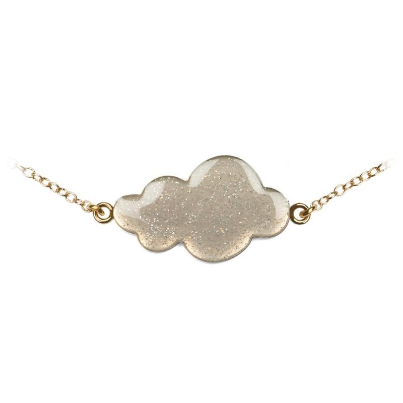Bracelet Nuage Gris - Boutique Les inutiles