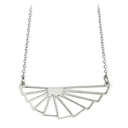 Collier Sunrise argenté