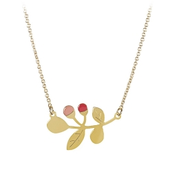 Collier Nina - Rose Cerise