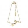 Bracelet branche - bijoux fleurs de cerisier plaqué or - créatrice Shlomit Ofir - Boutique Les inutiles