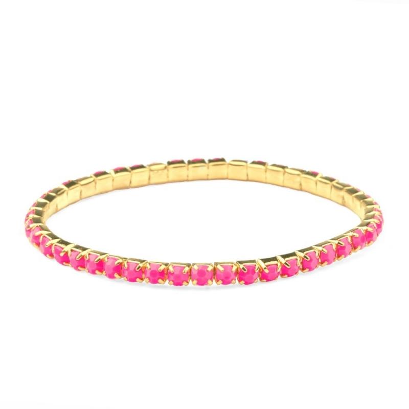 Bracelet Aurore Rose Fluo - Boutique Les inutiles