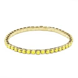 Bracelet Aurore Jaune Fluo