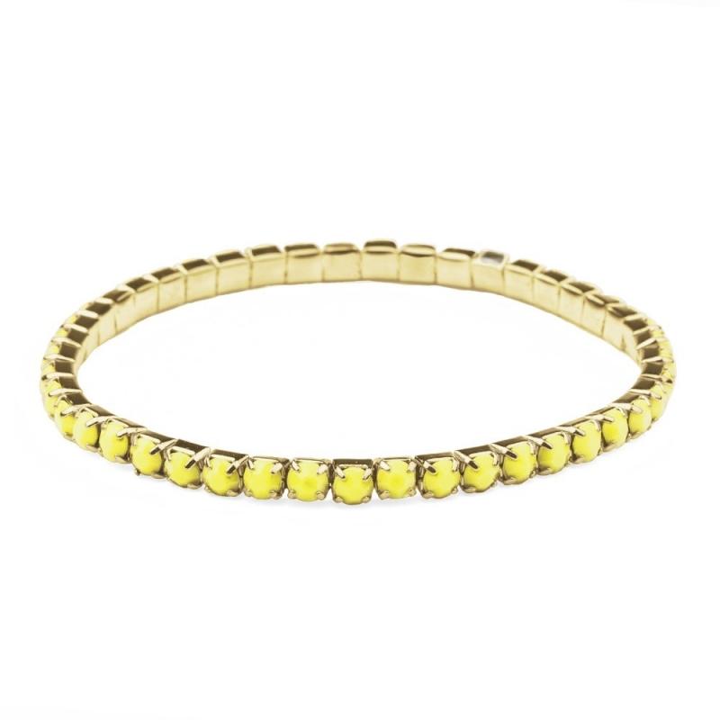 Bracelet Aurore Jaune Fluo - Boutique Les inutiles