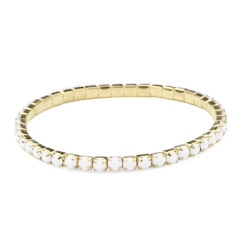 Bracelet Aurore Blanc - Boutique Les inutiles