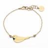Bracelet Little Bird - Oiseau Doré - Emmanuelle Biennassis Bijoux - Boutique Les inutiles