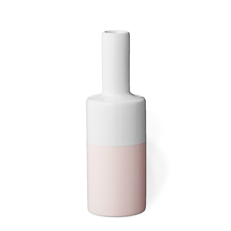 Vase Rose & Blanc - Bloomingville - Boutique Les inutiles