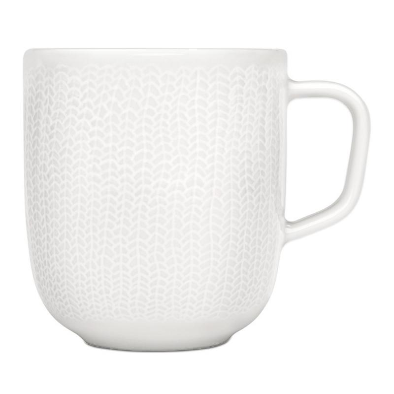 Mug Laine Blanche - Iittala Sarjaton Mug Letti White - Boutique Les inutiles