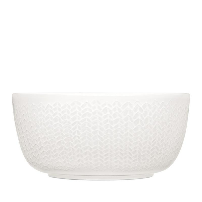 Bol Laine Blanche - Iittala Sarjaton Bowl Letti White - Boutique Les inutiles