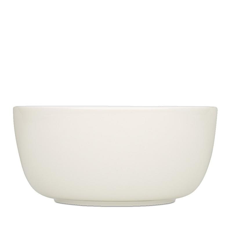 Bol Uni Blanc Cassé - Iittala Sarjaton Bowl White - Boutique Les inutiles