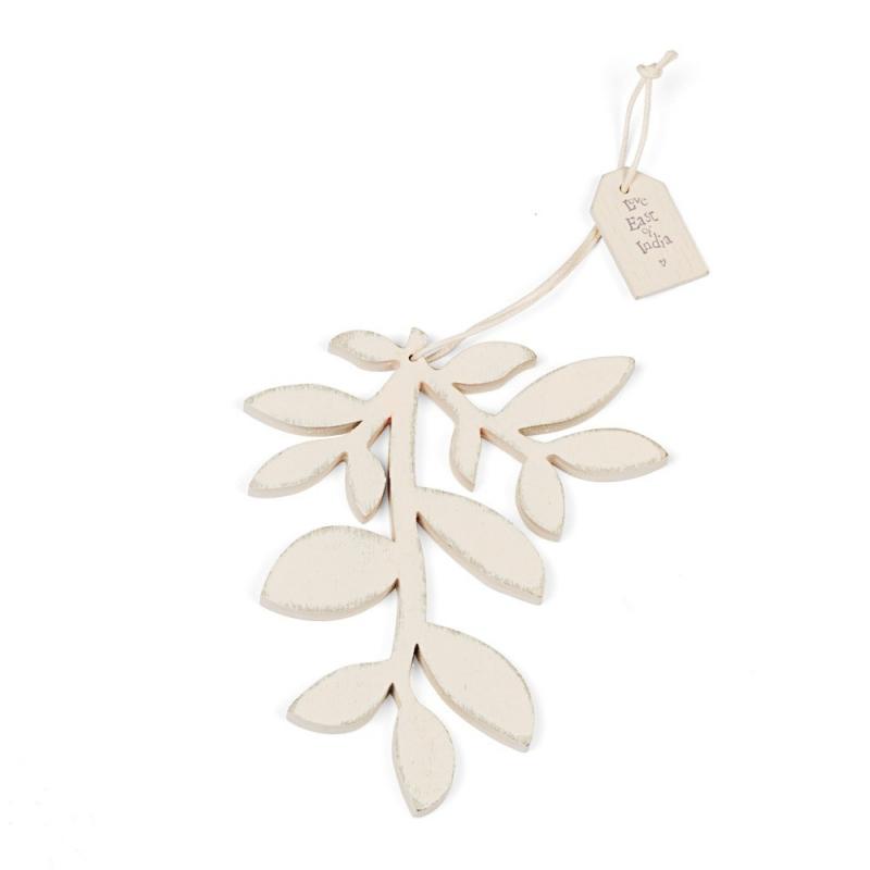 Branche blanche - Déco de Noël - East oh India - Boutique Les inutiles