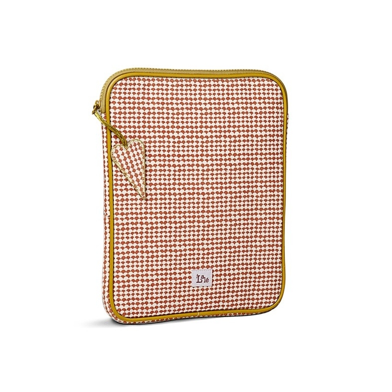 Housse Pour Tablette Tactile - Gaston Peixe Brique - Atomic Soda & Lalé - Boutique Les inutiles