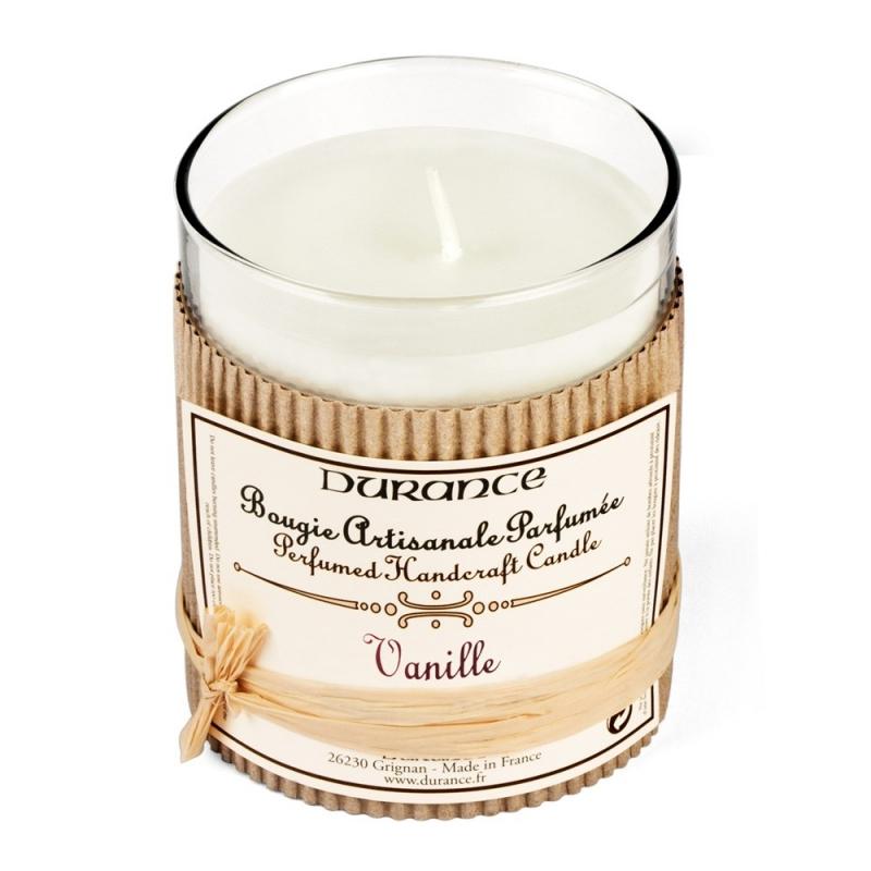 Bougie parfumée à la Vanille - Durance - Boutique Les inutiles