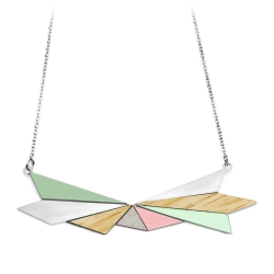 Collier Northern Light - Bois & Sauge