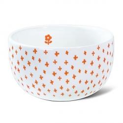Bol en Porcelaine - Bonne humeur Orange