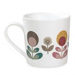Duo de Mugs à Fleurs
