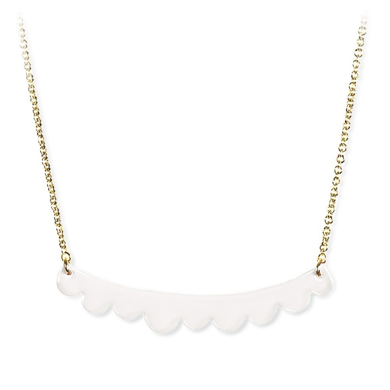 Collier Mulberry Ecru - Titlee - Boutique Les inutiles