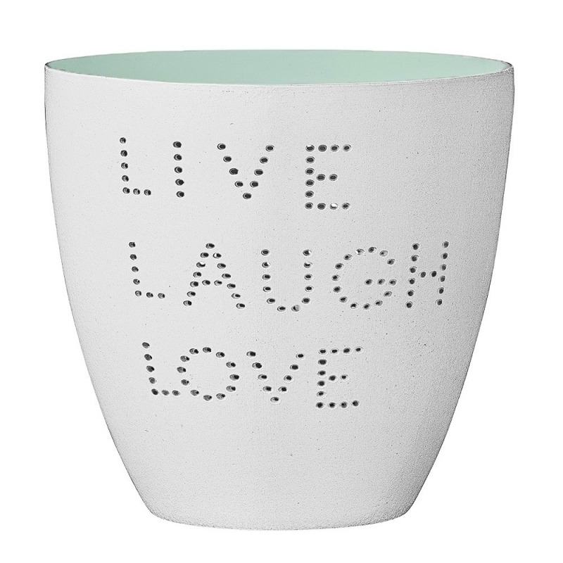 Photophore Live Laugh Love - Bloomingville - Boutique Les inutiles