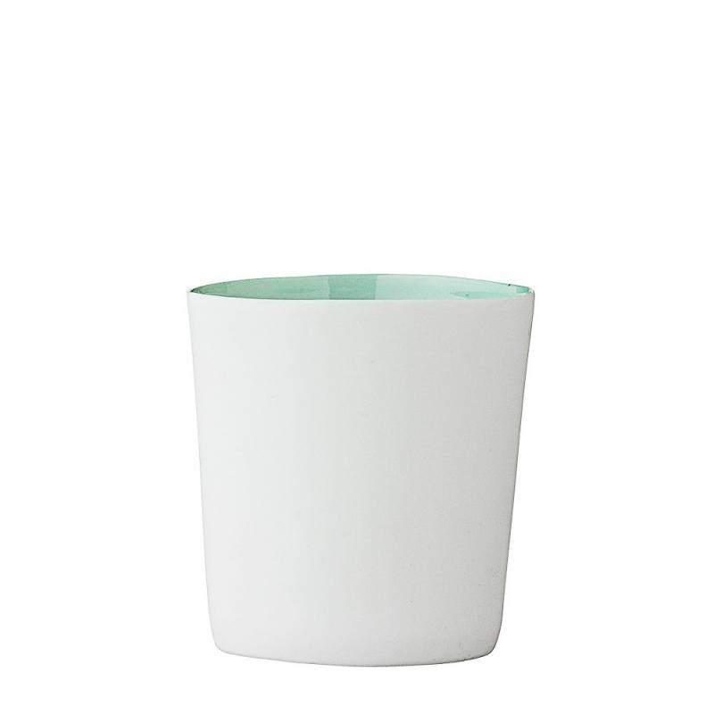 Mini Photophore Vert D'Eau - Bloomingville - Boutique Les inutiles