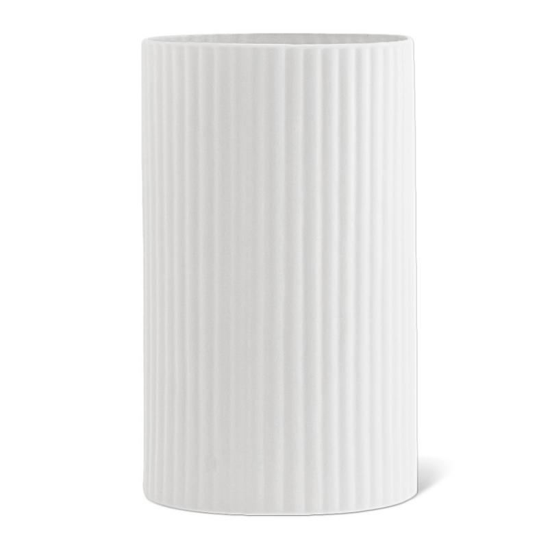 Vase Blanc Nuage en Opaline - Madam Stoltz - Boutique Les inutiles