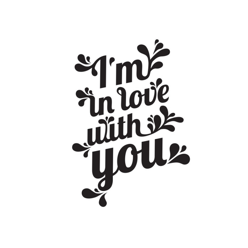 Tatouage I'm In Love With You - Tattyoo - Boutique Les inutiles