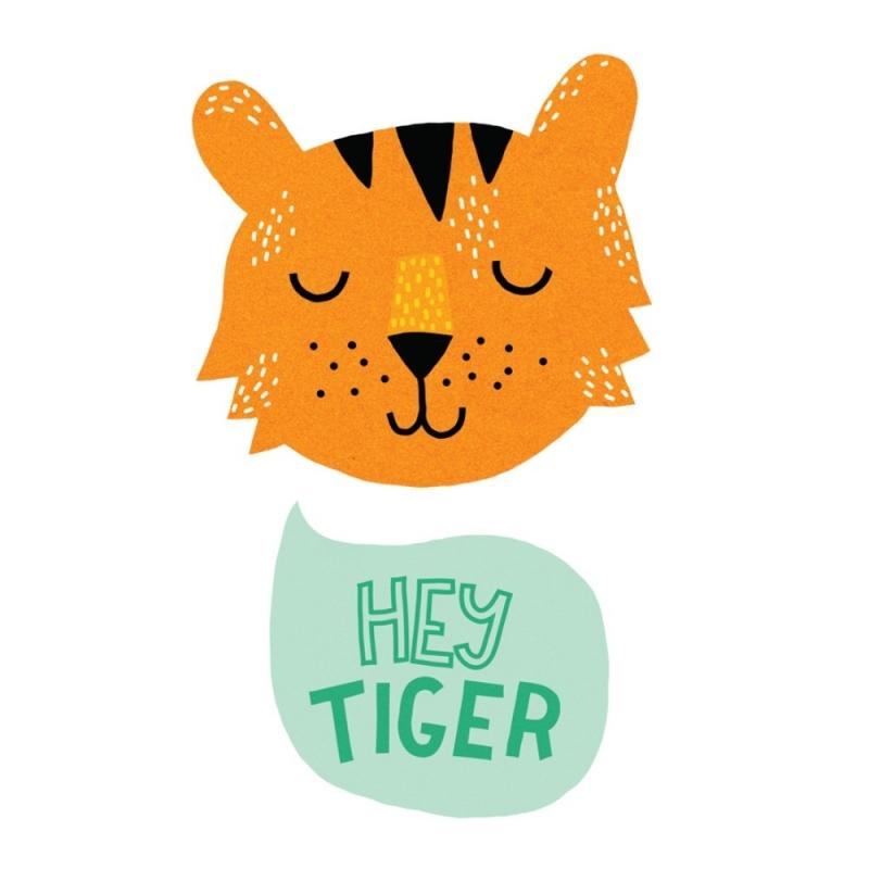 Tatouage Tiger - Tattyoo - Boutique Les inutiles