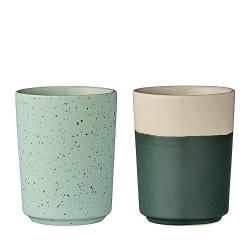 Duo de Mugs Vert d'Eau & Vert Sapin