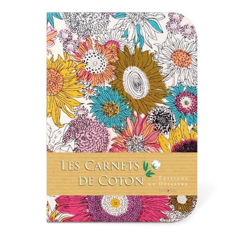 Carnet de Coton - Asters - Editions du Désastre - Boutique Les inutiles